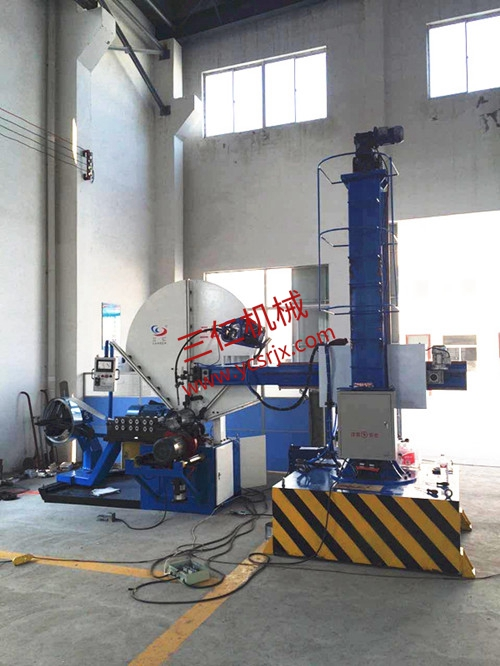 Seam Welding Equipments For Full-automatic Spiral Wind Pipe